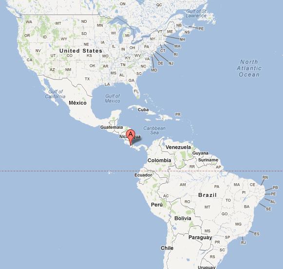 Costa Rica Map Geography Of Costa Rica Map Of Costa Rica Costa
