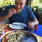 Pizza at La Fogata